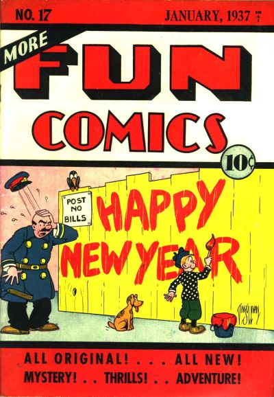 More Fun Comics #17 (January 1937)