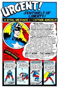 Vital Message from Captain America