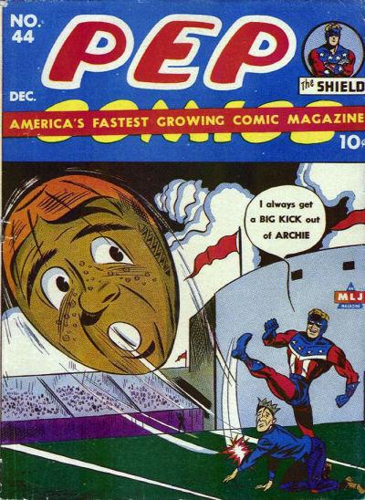 Pep Comics 44 (December 1943)