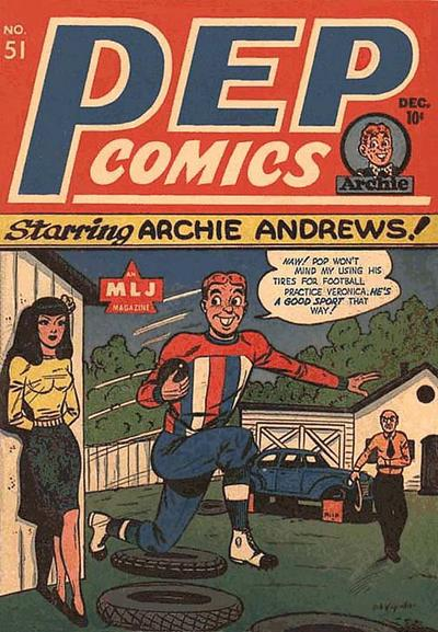 Pep Comics #51 (December 1944)