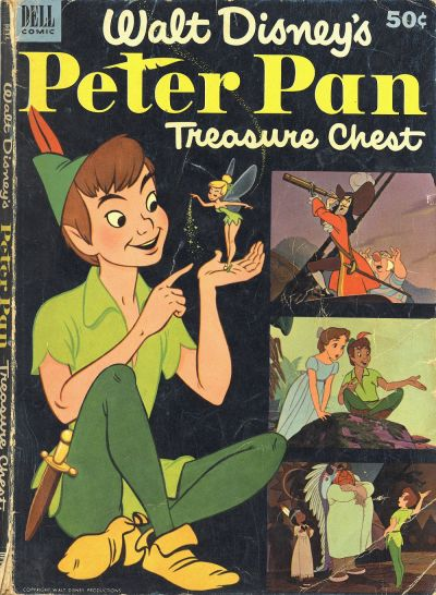 Peter Pan Treasure Chest #1 (January 1953)