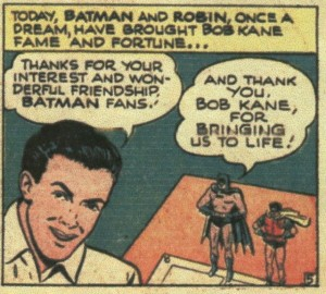 """The True Story of Batman & Robin"", Page 5 (Real Fact Comics #5)"