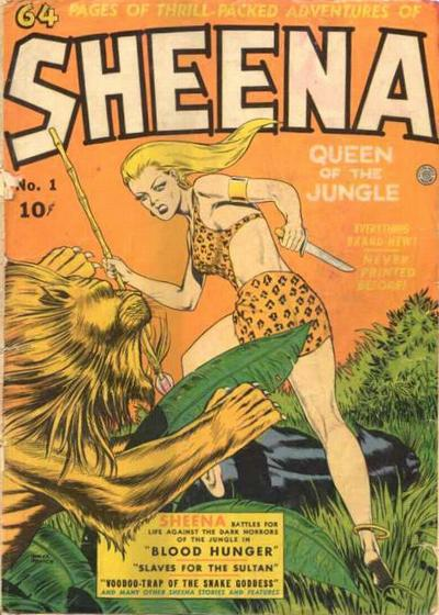 Sheena Queen of the Jungle #1