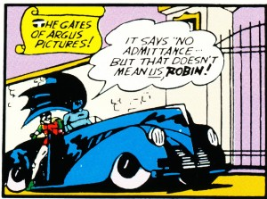 Batman & Robin in the Black Convertible (Detective Comics #40)