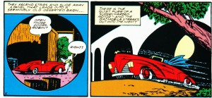 "First time car called ""Batmobile"" from Detective Comics #48 (1941)"