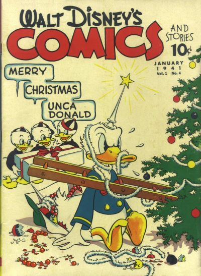 Walt Disney's Comics & Stories #4 (January 1941)