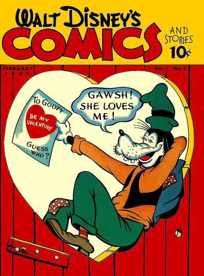 Walt Disney's Comics & Stories #5 (1941)