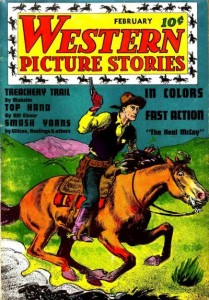 Western Picture Stories #1 (February 1937)